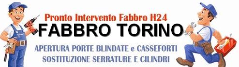 Fabbro Torino riparazione porte blindate